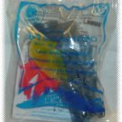 2010 McDonalds Happy Meal Toy Megamind #6 Light Effects Brainbot - NIP & FREE SHIPPING