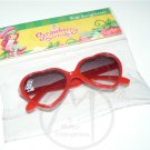 Strawberry Shortcake Red Heart Sunglasses 100% UV Protective - NIP + FREE SHIPPING