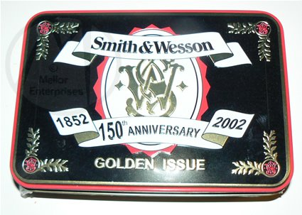 Smith & Wesson 150th Anniversary 1852 - 2002 Collector Knife in Collector Tin - NIP & FREE SHIPPING!
