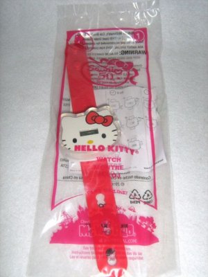 2010 McDonalds Happy Meal Toy Hello Kitty #1 Hello Kitty - NIP & FREE SHIPPING