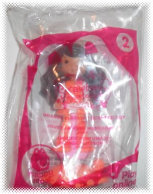 2011 McDonalds Happy Meal Toy Strawberry Shortcake #2 Orange Blossom - NIP & FREE SHIPPING