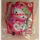 2011 McDonalds Happy Meal Toy Hello Kitty #6 Hello Kitty Calendar - NIP & FREE SHIPPING