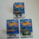 "LOT of 3 Hot Wheels ""Virtual Collection"" 2000's New In Packaging Not Opened - FREE SHIP"