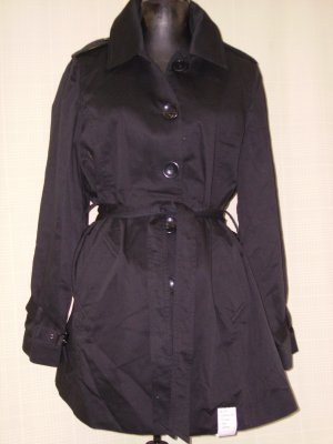 295041-1R Black - Shana-K Long Coat