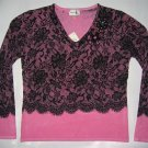 V-2134 Shana K LADIES KNITTED SWEATER