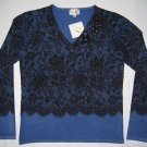V-2135 Shana K LADIES KNITTED SWEATER