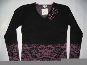 V-2137 Shana K LADIES KNITTED SWEATER