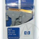 GENUINE HP 6ft IEEE 1284 High-speed Printer Cable H1003F DB25M - CE36M - NIP + FREE SHIPPING