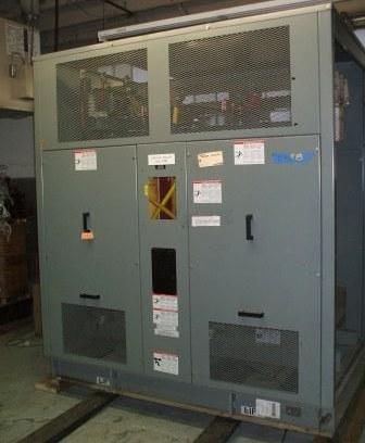 1000 kVA, 13800-480/277V, dry type transformer