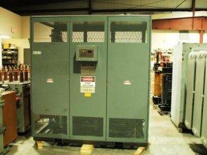 GE 3000/4000kVA 4160-480 cast coil transformer