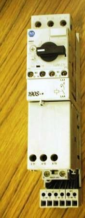 Allen Bradley 190S-ANJ2-CA63C manual starter NNB