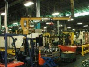 2 Ton floor mounted Jib crane