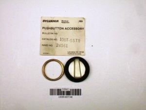 Joslyn Clark 100T-SSTB selector switch knob NIB