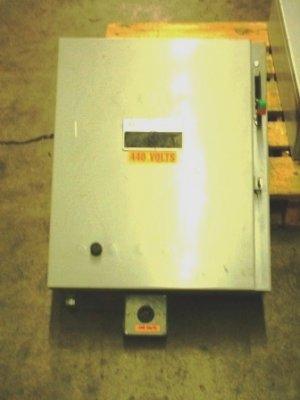 GE size 0 magnetic reversing combination starter 480v
