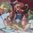 Heirloom Bear needlepoint kit by Nancy Rossi from Janlynn Teddy Bear 797