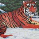 Siberian Tiger by Roger Reinardy vintage longstitch needlepoint kit Unopened 2040
