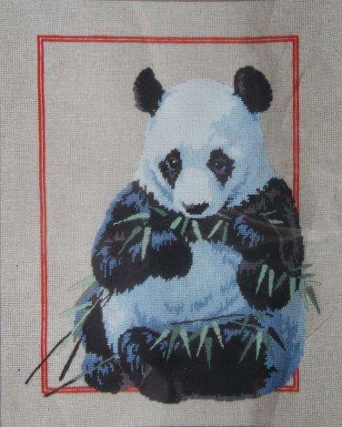 The Panda by Roger Reinardy vintage multi-stitch needlepoint kit Unopened 2105