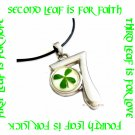 LUCKY 7 FOUR LEAF CLOVER NECKLACE ECFLC-SP1000