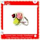 Miniature Sweet Pastry Ring - ECMFJ-RG3002