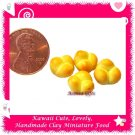 DOLLHOUSE MINIATURE PROFITEROLES DINNER ROLLS 4 PC (ECDMF-CC3007)