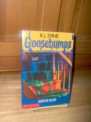 Goosebumps #3 - MONSTER BLOOD - EXCELLENT condition