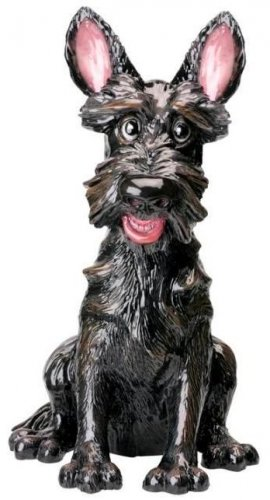 Scottie Dog Statuette - Angus