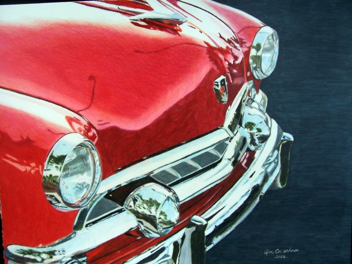 '51 Ford Grille