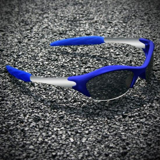 Half-frame   BLUE + SILVER