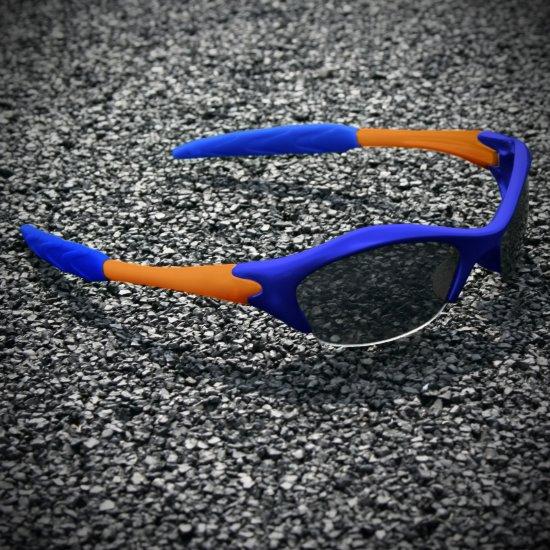 Half-frame | BLUE + ORANGE