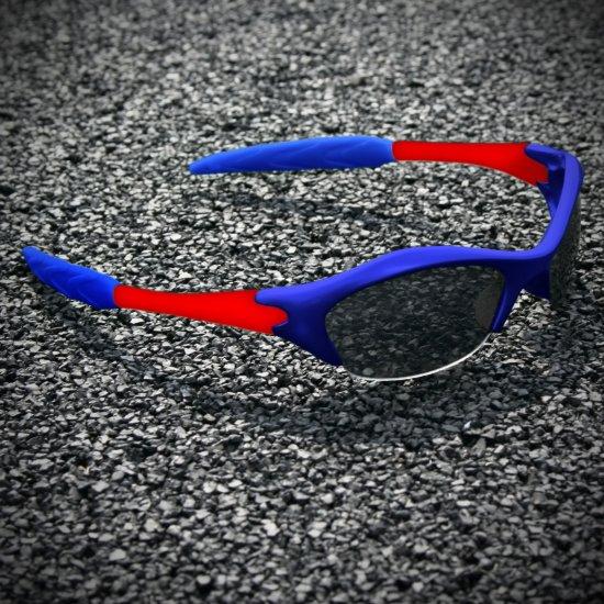 Half-frame | BLUE + RED
