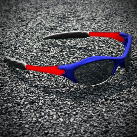 Half-frame | BLUE + RED + BLACK