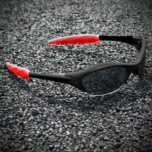 Half-frame | BLACK + BLACK + RED