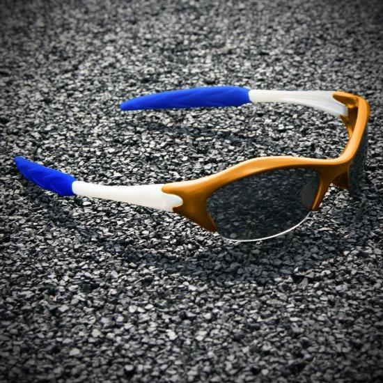Half-frame | BURNT ORANGE  + PEARL + BLUE