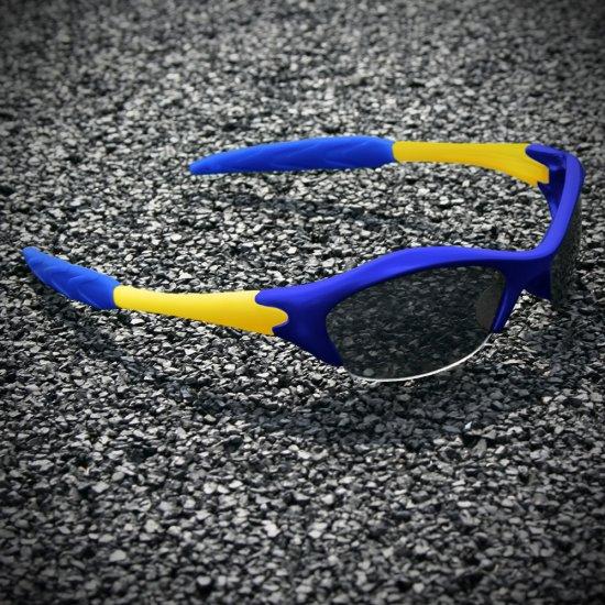 Half-frame | BLUE + GOLD
