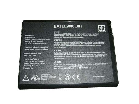 NEW BATELW80L8 BATELW80L8H battery for ACER TravelMate 2200 2700 ACER Aspire 1670 Acer042