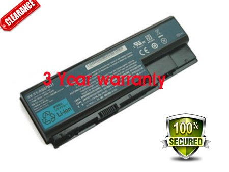 Acer Aspire 8935G 8940G 8942G 71Wh Ultra Power Battery 14.8V 4800mAh AS07B52