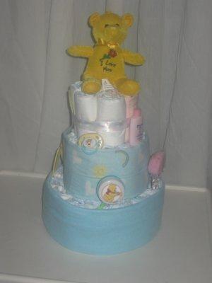 Sunshine Diaper Cake