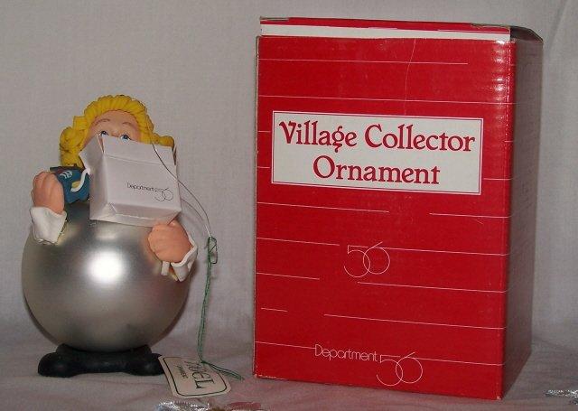 Dept 56 Female #7847 Village Collector Ornament NIB
