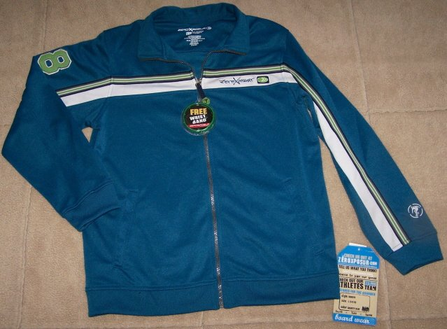 NWT Boys ZERO XPOSURE Board Wear Surf Jacket $36 14-16