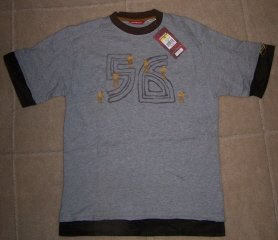Boys Teen Size M Gray UNION BAY T-Shirt Skateboard NWT
