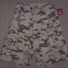 NWT Canyon River Blues CRB Camo Cargo Shorts Boys 16