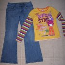 LIMITED TOO Simply Low Jeans TCP Top Outfit 12.5 Plus