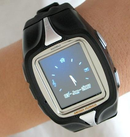 M800 GSM Mobile Cell Watch Phone Triband Unlocked AT&T TMobile