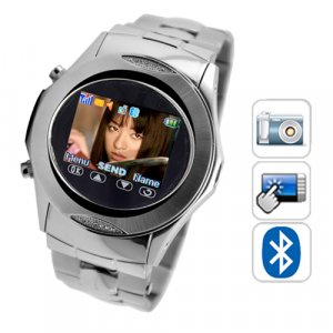 SB02 Quad Band Touchscreen Mobile Phone Watch