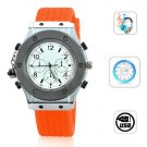 4GB Stainless Watch MP3 Player - 4 Colors Available