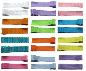 Solid Colored Clippies