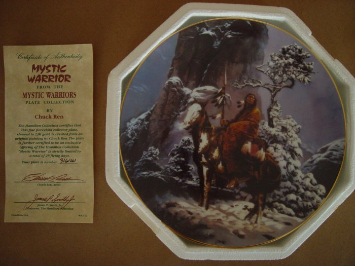 """""""Mystic Warrior"""" from the Mystic Warriors Hamilton Collection"""