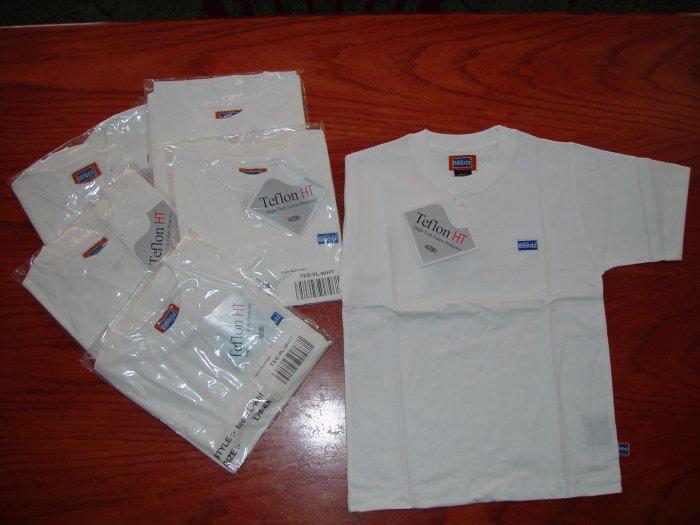 Youth Boys Sz 5/6x Tee Shirts with Teflon HT Protector Lot of 6 pcs.