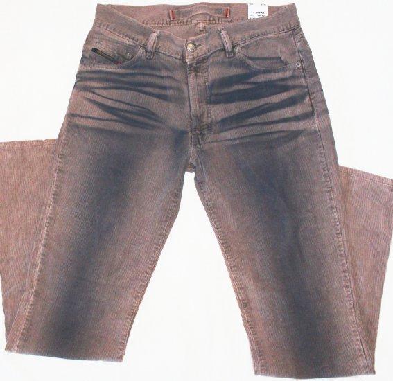 NEW  DIESEL  Womens corduroy pants  Size 32