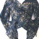 PARALLEL  Kimono-style wrap top  Size 6
